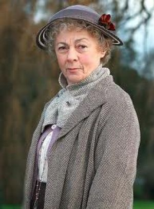 """Agatha Christie Marple costumes.jpg.  My personal favorite Miss Marple.  Not too """"fluffy"""", but a little dithery while her mind works its wonders."""
