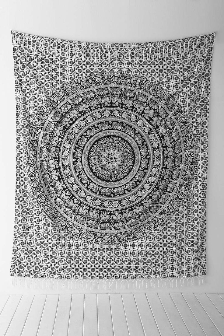 Magical Thinking Floral Elephant Tapestry - Urban Outfitters Favorite tapestry, great wall decoration for a dorm room