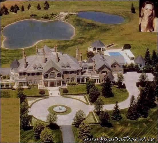Celebrity Home of Singer, Mariah Carey ~Grand Mansions, Castles, Dream Homes & Luxury Homes ~Wealth and Luxury