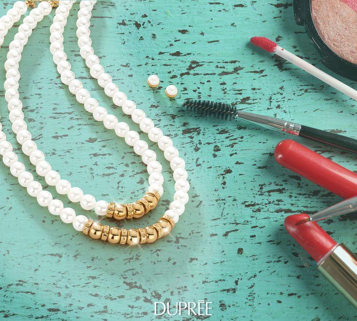 Collar de perlas para mujer. Elegante. Duprée