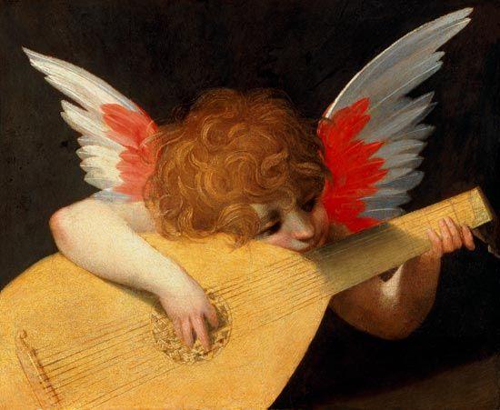 Rosso Fiorentino - Angiolino musicante