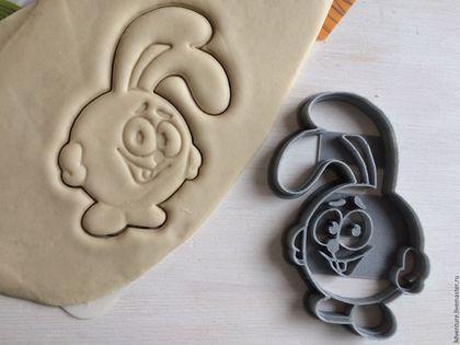 Кухня ручной работы. Ярмарка Мастеров - ручная работа. Купить Форма для печенья Смешарики Крош. Handmade. Разноцветный, формочка для печенья