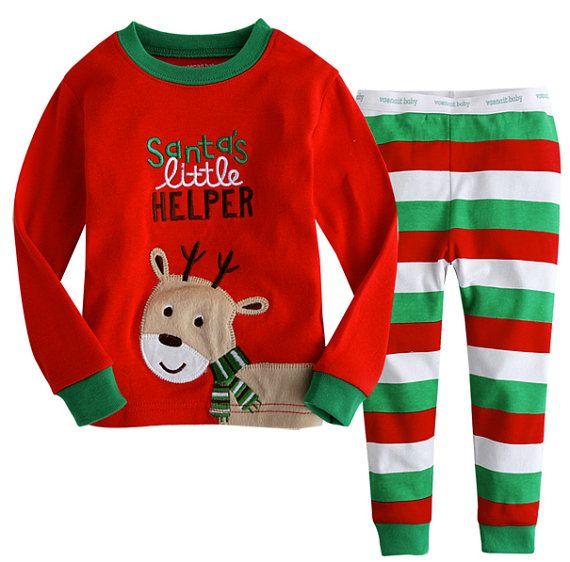 Christmas Pajamas for kids on Etsy, $23.00