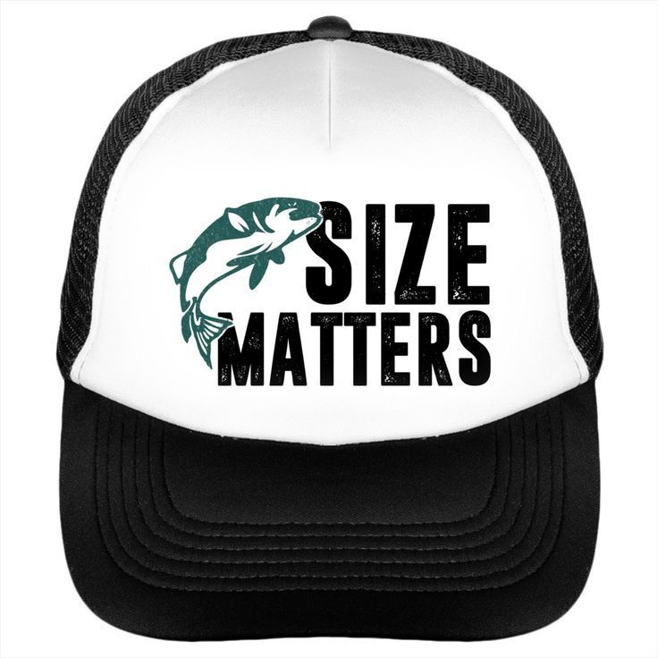 Size Matters Fun Fishing Baseball Cap.  A hat for sports or times of leisure is a universal accessory to lend a sporty touch  to days of sunshine and of rain. Select your style that suits you.  Shop here at Sunfrog for trucker snapback hat, classic trucker cap.  #truckerhat #truckercap #hat #cap #caps #sportswear #Hipster #men #unisex   #giftideas #gift #sunfrog #lisaliza #women #HatsForWomenSporty