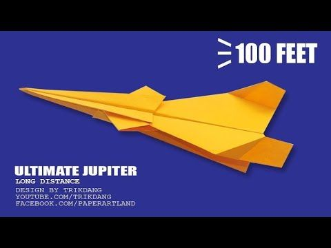 Best Paper Airplane How To Make A That Flies Far