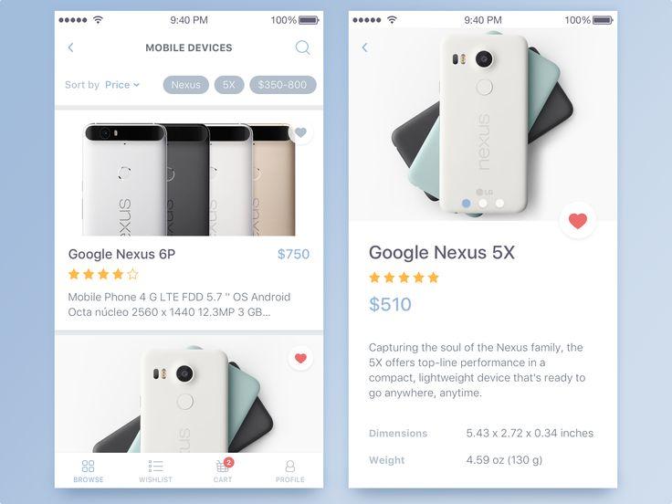 E-commerce App for IOS