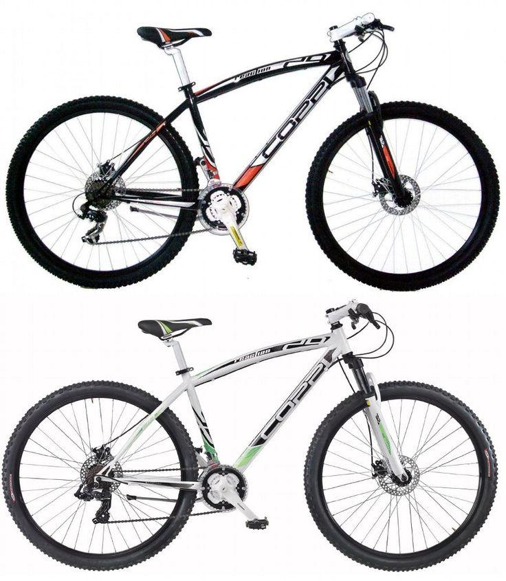 """29"""" Zoll Herren Mountainbike 21 Gang Coppi Reaction Hardtail 29er MTB Fahrrad Weiss kaufen bei Hood.de"""