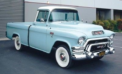 1955 GMC S-100 Suburban pickup, 287ci (Pontiac) V8 & 4 speed w/granny low
