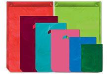 """Citrus Green Plastic Bags - 12"""" x 18"""""""