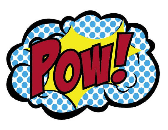 INSTANT DOWLOAD  Superhero Decorations   Bam by 7under1designs, $5.00