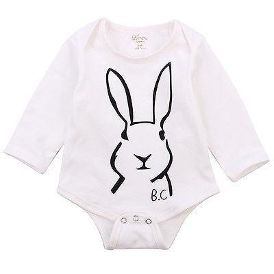 3a5119d3cb87 Smart Bunny Romper
