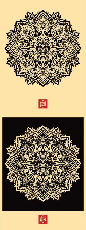 Obey Mandala...reminds me of @Ariel Fisk-Vittori