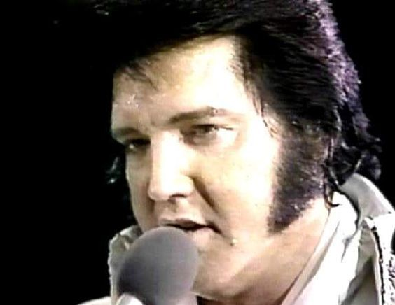 Elvis in concert in june 1977 , for the CBS t-v special ( Elvis in concert )