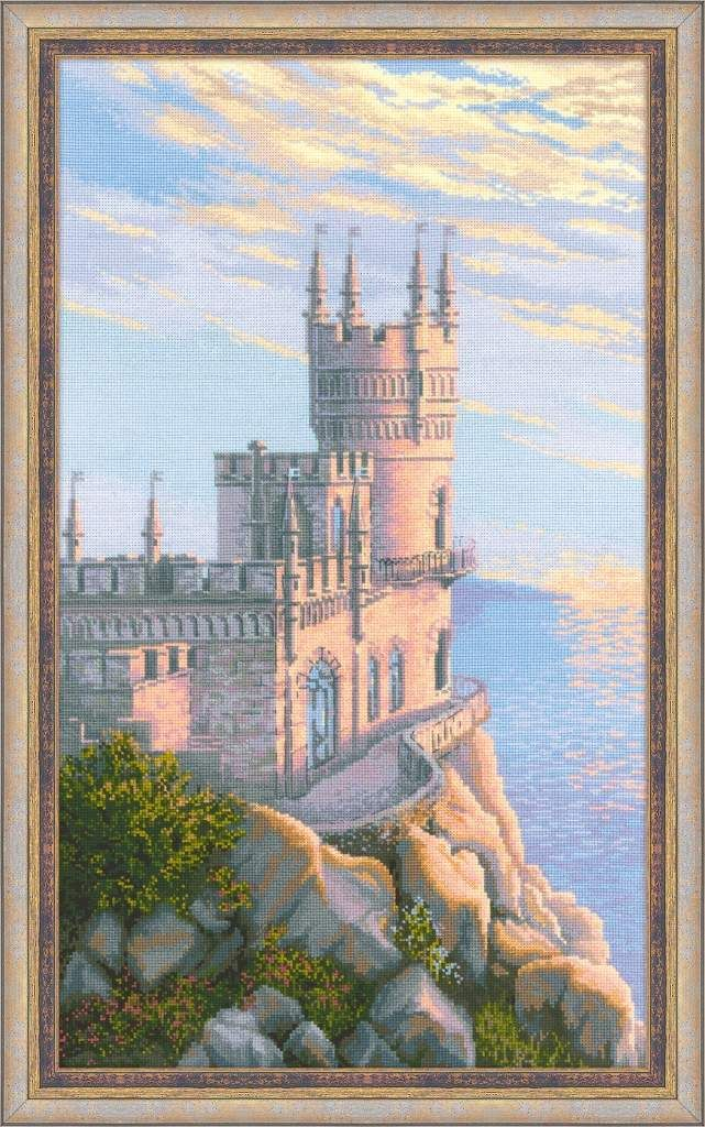 Swallows Nest by Riolis, counted cross stitch kit
