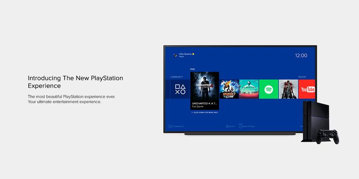 The New PlayStation Experience (Concept) on Behance