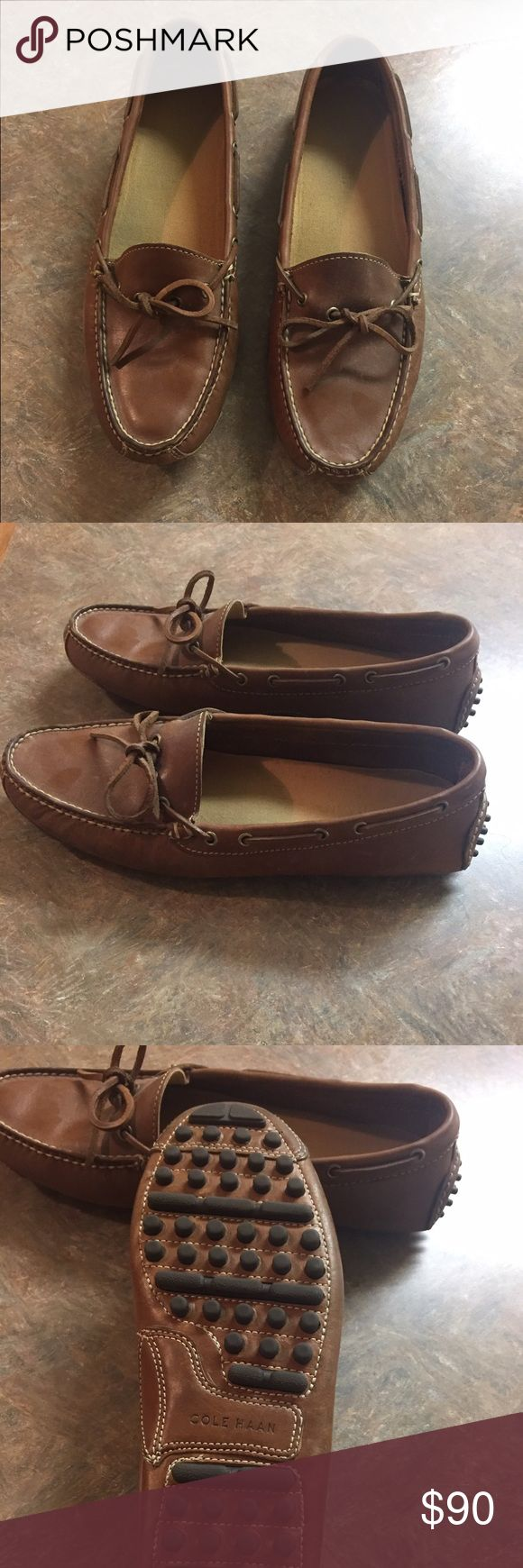 Cole Haan Grant Driver Very stylish shoe. Worn a few times but was the wrong size. Bought the same pair in a size bigger and very pleased with them. Cole Haan Shoes Loafers & Slip-Ons