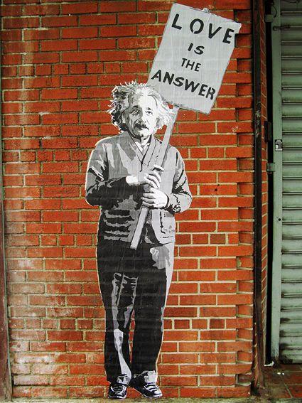 €24  #Banksy Leinwand 18x24cm Für Deinen Liebsten ♥ Sag´s mit #EINSTEIN! Urban Art prints