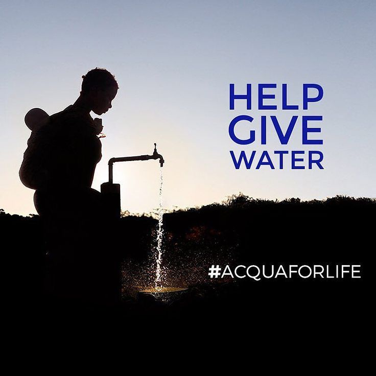 Its #WorldWaterDay! Find out how you can #HelpGiveWater to those most in need with the #AcquaForLife project on acquaforlife.org by armani