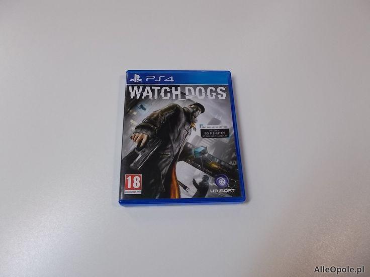 Watch Dogs - GRA Ps4 - Opole 0479 (Opole)