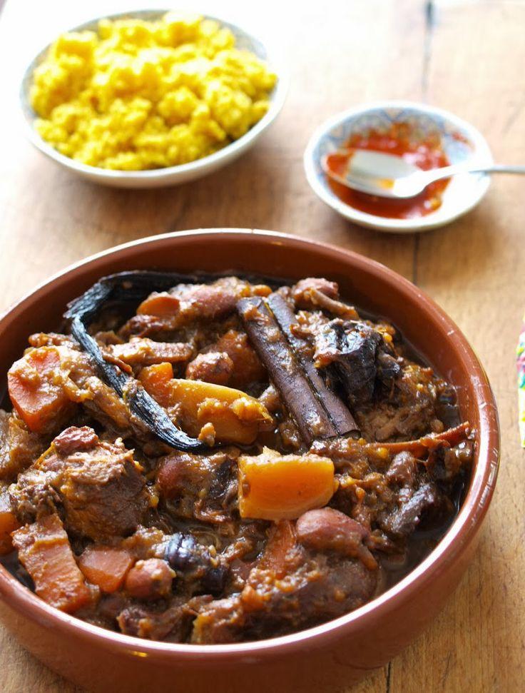 Super recette de Tajine d'agneau aux fruits secs et aux légumes (testée et approuvée)