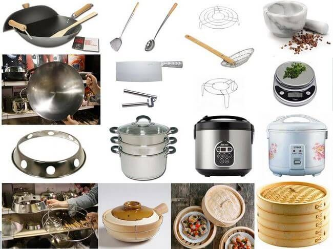Chinese Cooking Tools