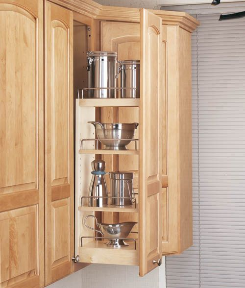 Kitchen Craft Cabinet Sizes: Kitchen Storage Solutions #remodel