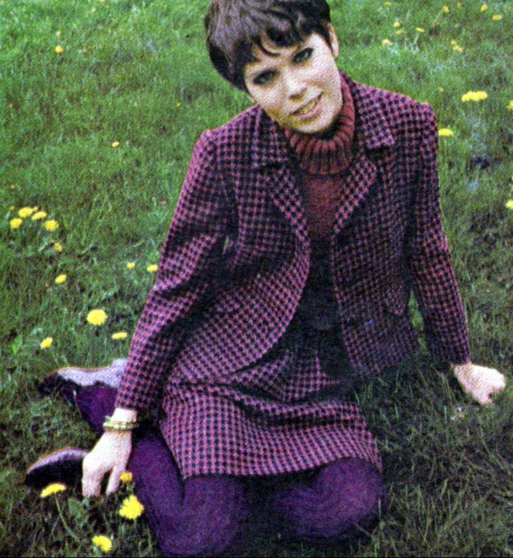 prudence farrow ladies home journal august 1966