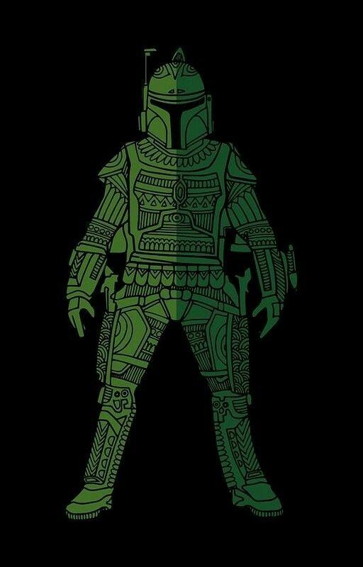 Boba Fett - Star Wars Art Prints by Studio Grafiikka