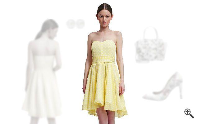 Gelbes Cocktailkleidkombinieren + 3GelbeOutfits für Pia http://www.kleider-deal.de/gelbes-cocktailkleid-kurz/ #Gelb #Yellow #Cocktailkleider #Kleider #Dress #Outfit Pia findet gelbe Outfits für den Sommer einfach unwiderstehlich. Aber manchmal fehlen ihr einfach die Ideen, wie sie zum Beispiel ein gelbes Cocktailkleid in Kurz kombinieren kann. Sie bat mich...