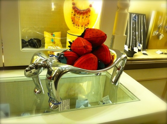 bowl of Via La Moda Strawberries - spotted at the Mount Nelson Signature Boutique in Cape town
