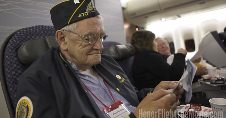 Veterans Get Special Delivery During Honor Flight