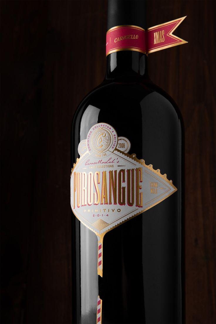 PUROSANGUE | Wine Concept & Design on Behance