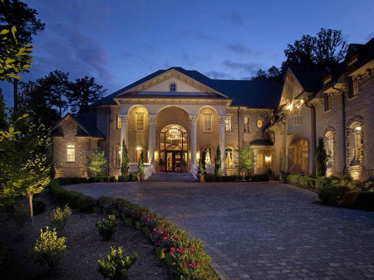 Which atlanta brick mansion do you prefer homes of the for Rich house plans