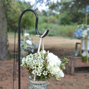 Bouquet de chaise sur piquet