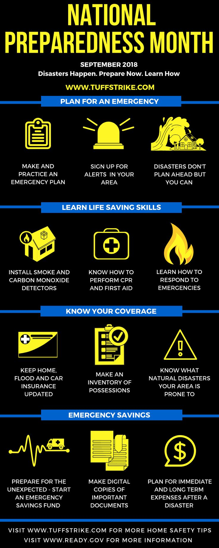 National Preparedness Month. Follow these tips to keep you