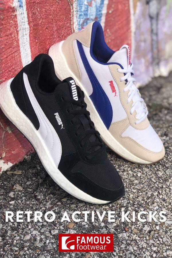Famous footwear, Retro sneakers