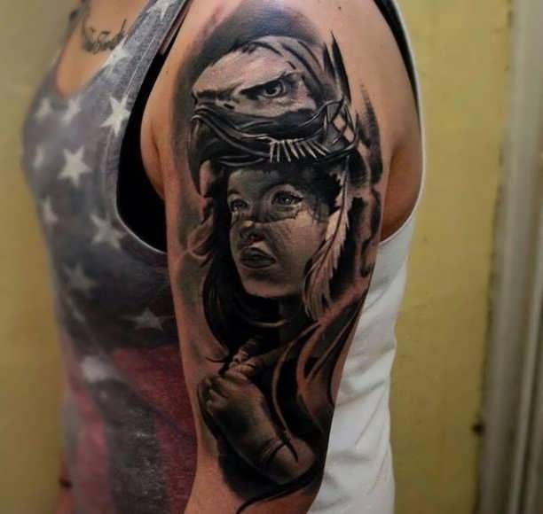 252 Best Upper Arm Tattoos Images On Pinterest