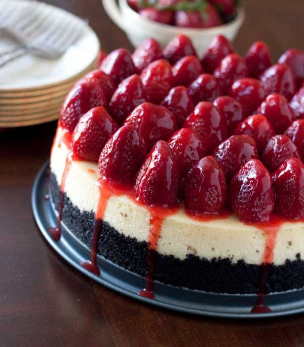 Strawberry Cheesecake Recipe « Cake Recipes From Scratch