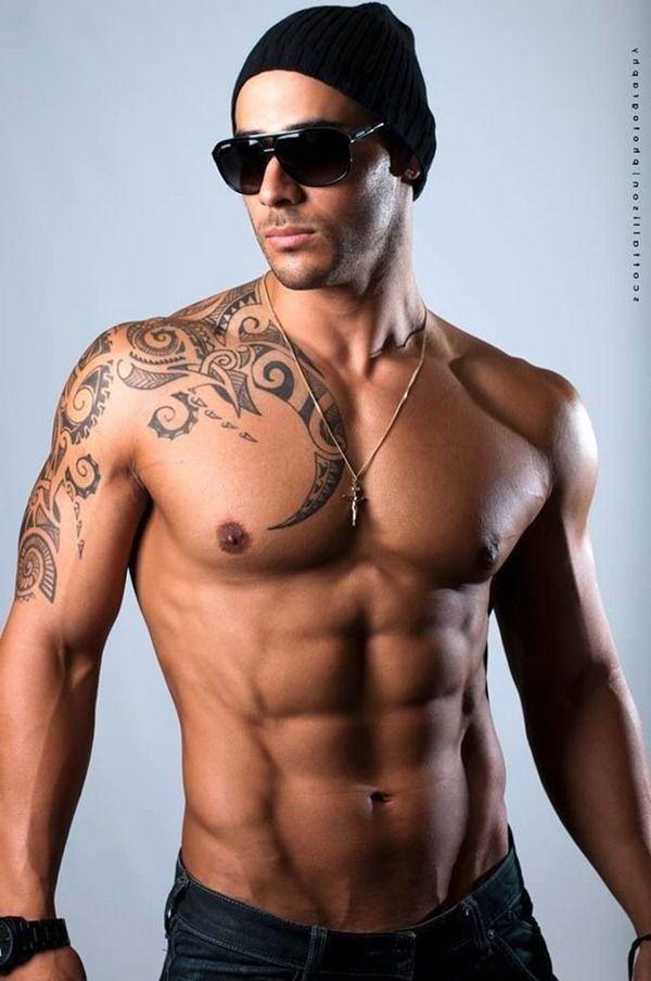 Tribal Shoulder free tattoo designs for men                                                                                                                                                      More
