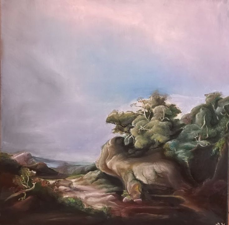 Buy Landscape, Oil painting by Viktória Déri on Artfinder. Discover thousands of other original paintings, prints, sculptures and photography from independent artists.