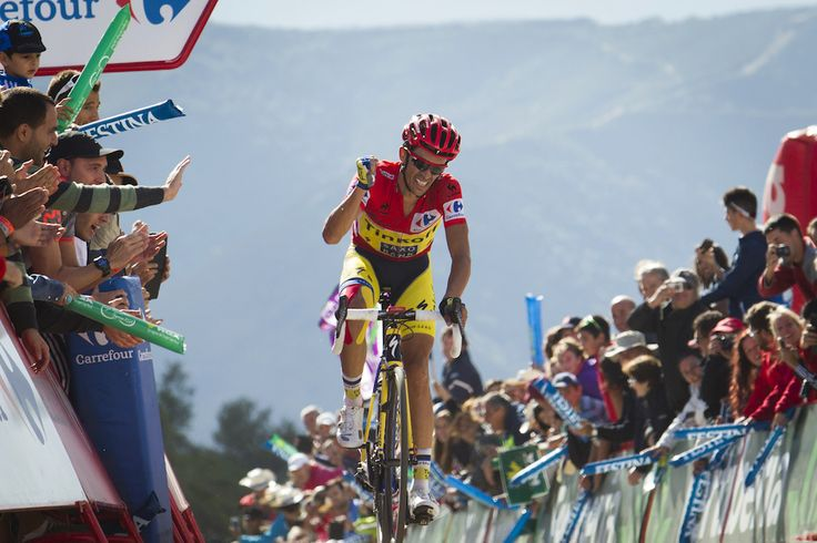 Gallery: 2014 Vuelta a Espana, stage 20 - Alberto Contador's second Vuelta stage win atop Ancares was one final confirmation that he was the man in charge at the Spanish grand tour. Photo: AFP PHOTO   JAIME REINA