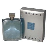 Chrome Azzaro for Men by Azzaro, Eau De Toilette Spray 6.8 Ounces