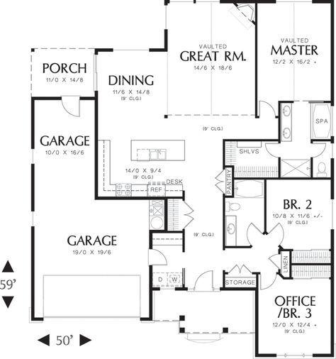 114 best 1800 sq ft house plans images on Pinterest House floor