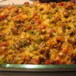 Stuffed Green Pepper Caserole Allrecipes.com