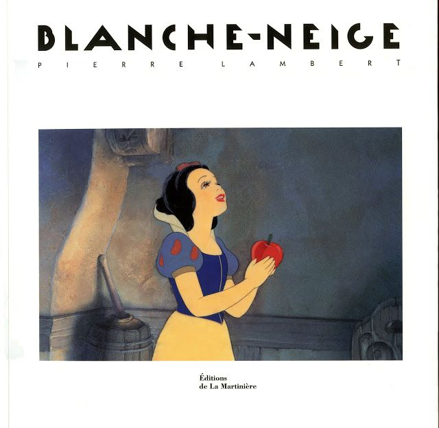 Filmic Light - Snow White Archive: Pierre Lambert's Blanche-Neige Book