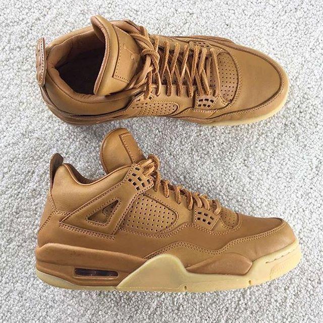 """Air Jordan 4 Pinnacle """"Wheat"""""""