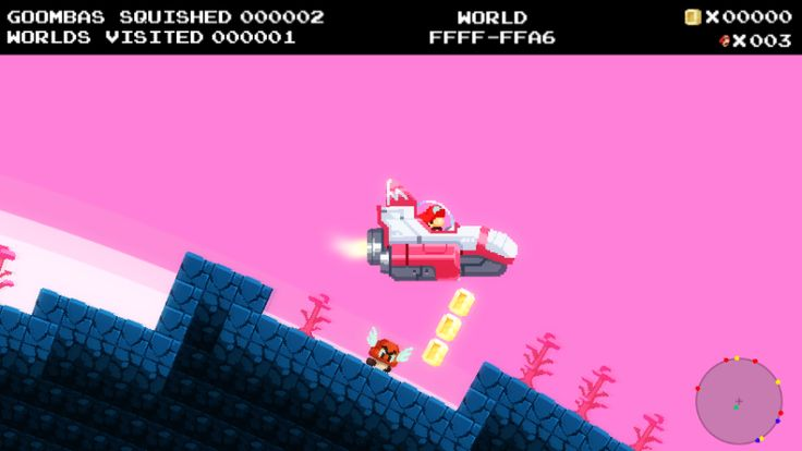 No Mario's Sky Offers Infinite Goombas to Stomp