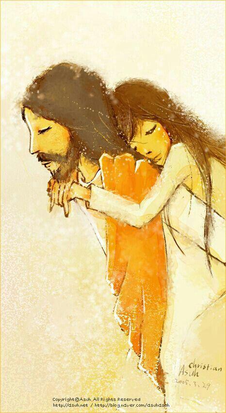 Él lleva nuestras cargas
