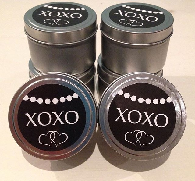 #bonbonniere #weddingexpos Loving my new bonbonnerie stickers!  Stickers created by @jossignsbydesign. #soy #candles #giftfavours #weddings #luxury #weddingexposaustralia #rosehillgardens #love #hugsandkisses #thankyou #jossignsbydesign #florists #gifthampers
