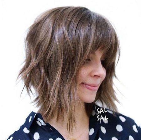 Best 35+ Choppy Bob Hairstyles 2018 | Bob Hairstyles 2018 – Short Hairstyles for Women